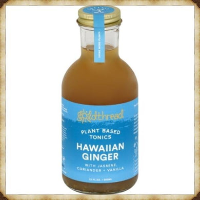 Hawaiian Ginger - Plant based tonic (12oz per bottle)