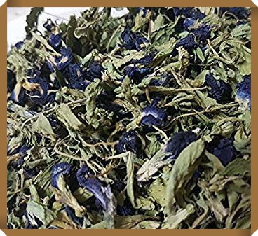 Dried Stevia Leaves & Dried Butterfly Pea Flowers