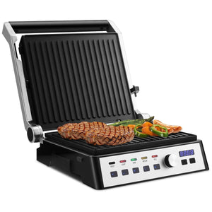Electric Indoor Grill with Removable Plates