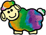 Craving Color One-of-a-Kind Gifts  tie dye sheep logo