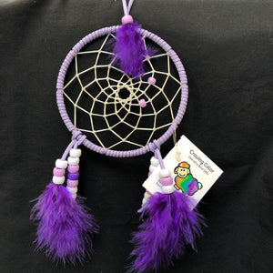 "Purple 4"" Dreamcatcher"