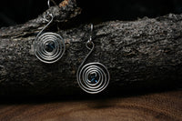 Simple Spiral Earrings