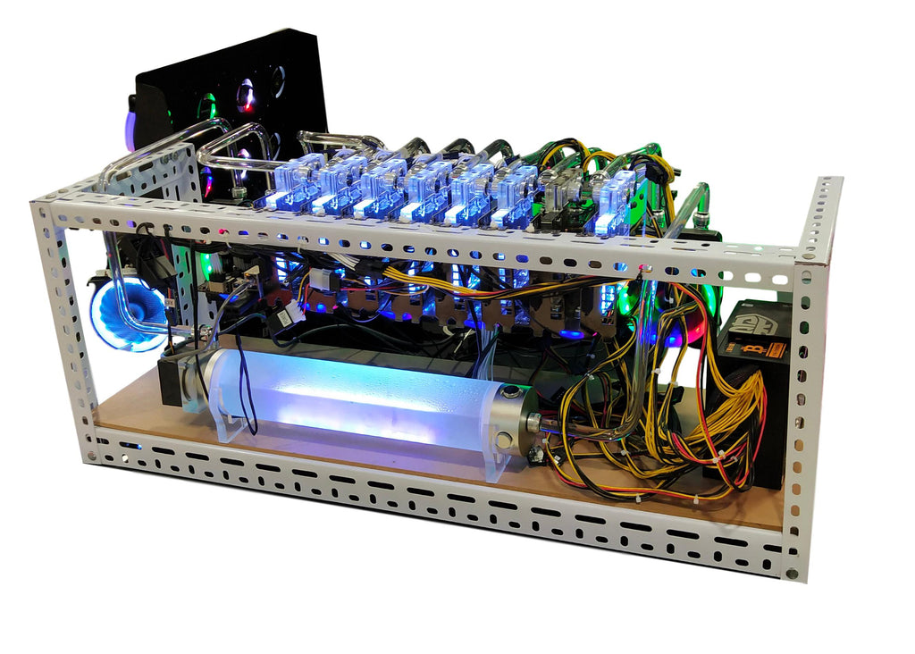 2018 latest technology - graphics mining machine, you can dig a variety of cryptocurrencies, support for customization, do not wait until the market is good just think of coins.