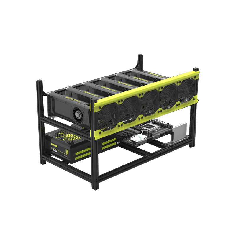 VEDDHA V3D Mining 6 Graphics Chassis