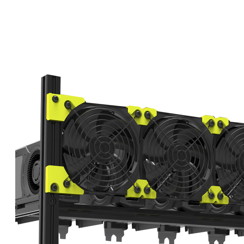 VEDDHA V3C Mining 8 Card Chassis
