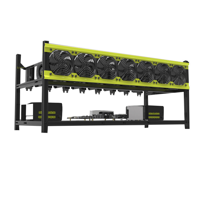 VEDDHA V3D mining 8 graphics card rack