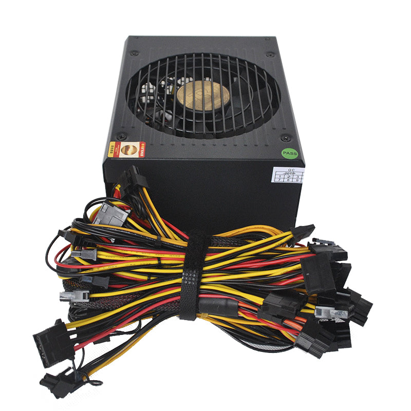 Power supply for mining real 1800W(8 graphics dedicated)