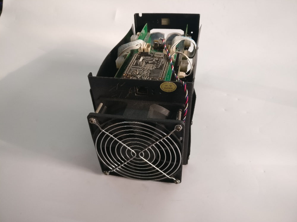 Used BTC miner Antminer S5 1150G 28NM BM1384 Bitcoin mining machine ASIC miner ( with psu )
