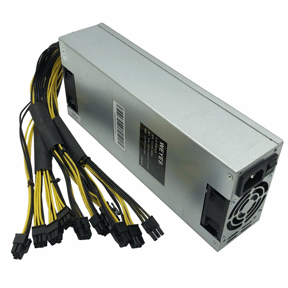 Original Bitmain 1800w power supply 6PIN*10 Antminer APW3++-12-1600,ETH PSU,antminer S9 S7 L3 BTC LTC DASH miner power supply