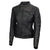 Jemison Leather Handmade Lambskin Women Biker Jacket - Jemison Leather