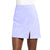 Jemison Leather Handmade Light Blue Suede Leather Mini Skirt - Jemison Leather