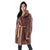 Jemison Leather Handmade Brown Mink Fur Jacket - Jemison Leather