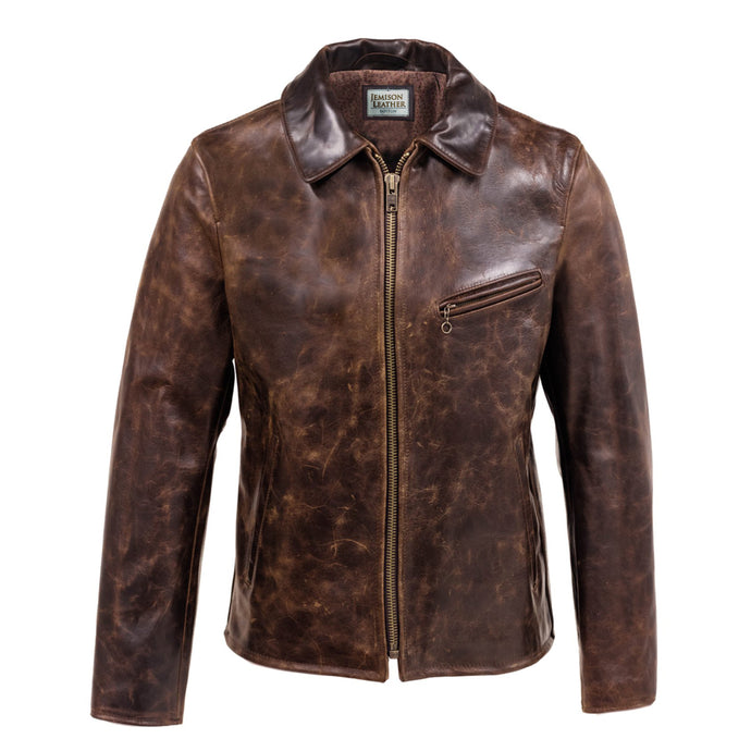 Jemison Leather Moto Style Women's Jacket