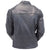 Jemison Leather Handmade Lambskin Vintage Dull Black Jacket - Jemison Leather