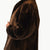 Jemison Leather Handmade Brown Beaver Fur Jacket - Jemison Leather