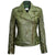 Jemison Leather Handmade Lambskin Buckle Style Women Jacket - Jemison Leather