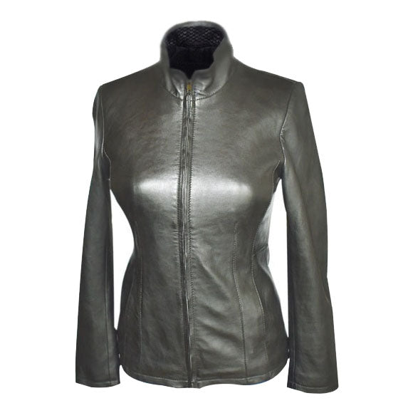 Jemison Leather Women's Geniune Black Jacket