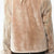 Jemison Leather Handmade Light Brown Beaver Fur Jacket - Jemison Leather