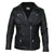 Jemison Leather Handmade Lambskin Black Women Jacket - Jemison Leather