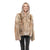Jemison Leather Handmade Brown Fox Fur Jacket - Jemison Leather