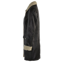 Load image into Gallery viewer, Jemison Leather Women's Leather Coat