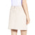 Jemison Leather Handmade Light Pink Leather Mini Skirt - Jemison Leather