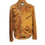 Jemison Leather Handmade Lambskin Brown Coat Jacket - Jemison Leather