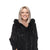 Jemison Leather Handmade Black Mink Fur Full Coat