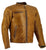 Jemison Leather Handmade Lambskin Leather Vintage Brown Jacket - Jemison Leather