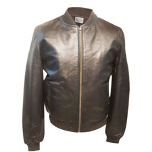 Load image into Gallery viewer, Jemison Leather Men's Dress Genuine Brown Jacket