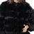 Jemison Leather Handmade Black Fox Fur Jacket - Jemison Leather