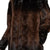 Jemison Leather Handmade Brown Mink Fur jacket
