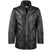 Jemison Leather Handmade Lambskin Men's Long Jacket - Jemison Leather