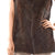 Jemison Leather Handmade Brown Mink Fur Vest