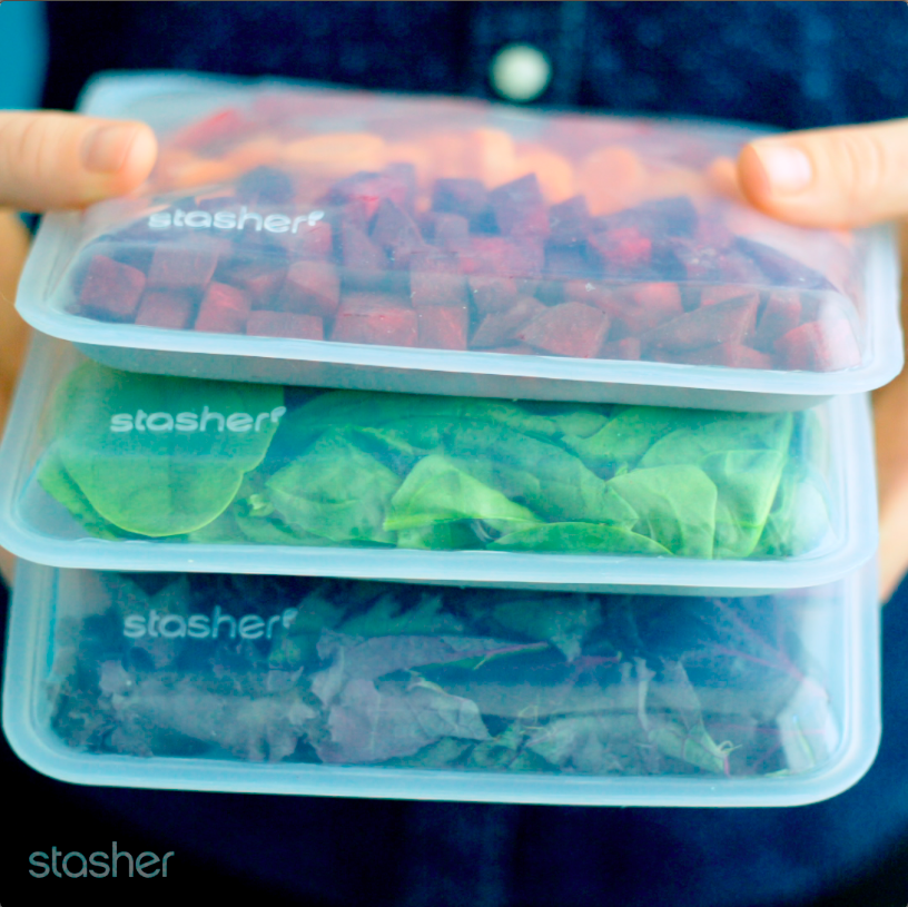 3 Stasher Smoothie Prep Recipes