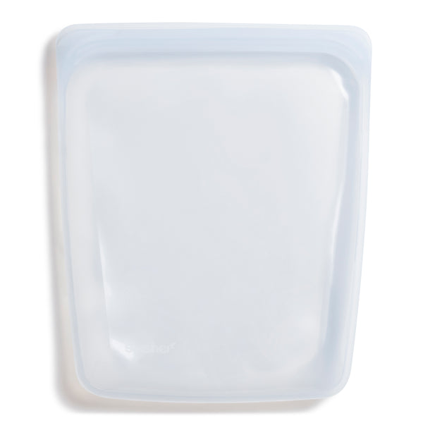 Reusable Silicone Half-Gallon Bag - Clear