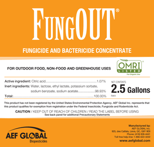 AEF Global FungOUT (2.5 gal)
