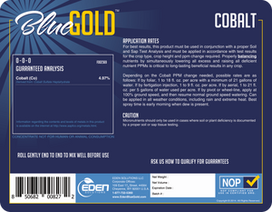 Eden Solutions, LLC Eden Blue Gold Cobalt (1 gallon)