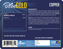Load image into Gallery viewer, Eden Solutions, LLC Eden Blue Gold Copper (1 gallon)