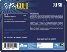 Load image into Gallery viewer, Eden Solutions, LLC Eden Blue Gold Oli-Sil (1 gallon)