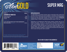 Load image into Gallery viewer, Eden Solutions, LLC Eden Blue Gold Super Mag (1 gallon)