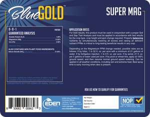 Eden Solutions, LLC Eden Blue Gold Super Mag (1 gallon)