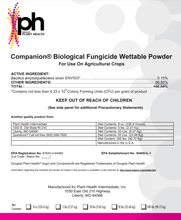 Load image into Gallery viewer, Growth Products Growth Products Companion Biological Fungicide Wettable Powder