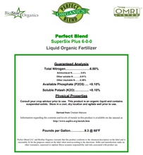 Load image into Gallery viewer, Perfect Blend Perfect Blend Biostar Super 6 Liquid (Bulk Gallons)