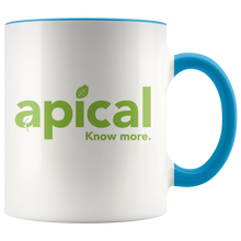 Load image into Gallery viewer, teelaunch Drinkware Blue Apical Accent Mug