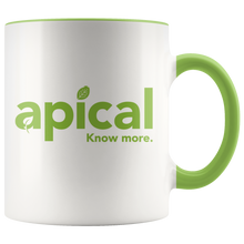 Load image into Gallery viewer, teelaunch Drinkware Green Apical Accent Mug