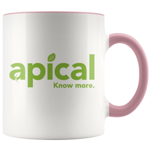 Load image into Gallery viewer, teelaunch Drinkware Pink Apical Accent Mug