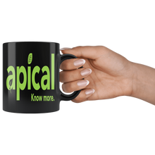 Load image into Gallery viewer, teelaunch Drinkware Apical Black Mug Apical Black Mug