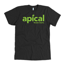 Load image into Gallery viewer, teelaunch T-shirt American Apparel Mens / Black / S Apical American Apparel Mens Tee