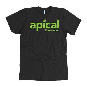 teelaunch T-shirt American Apparel Mens / Black / S Apical American Apparel Mens Tee